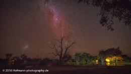 Can't sleep - campground Bowra QLD, Australia