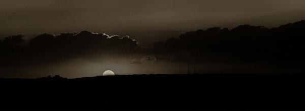 sunset in mono by mogobiker