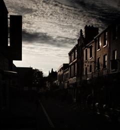 5.00pm shadow