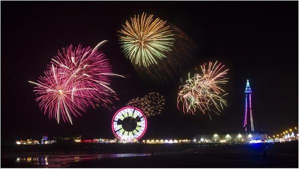 Blackpool Fireworks by Leedslass1