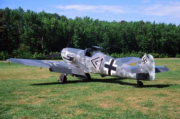 Messerschmitt BF/ME-109 by mlphotographer