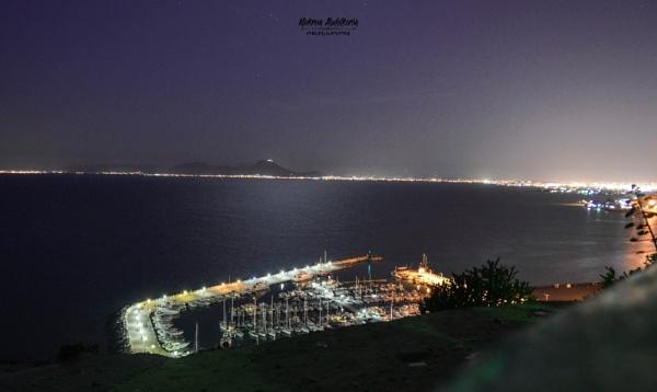 Tunisia by night by Makrem