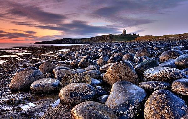 Dunstanburgh Dawn. by jevy47