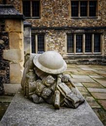 Great War commemorative memorial.
