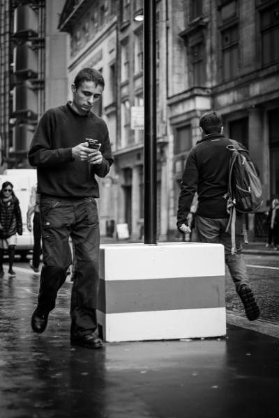 4 Black & White commuters by JackAllTog