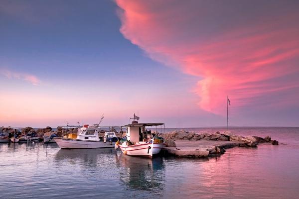 Greek Sunset by SamCampbell