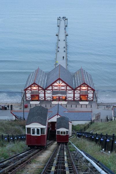 Saltburn pier by Belleyeteres