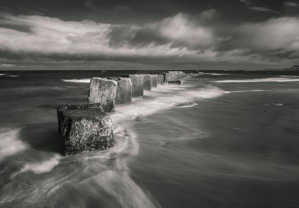Sea defences by Dallachy