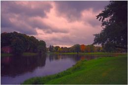 """Autumn in the park """"Arcadia"""", Riga"""