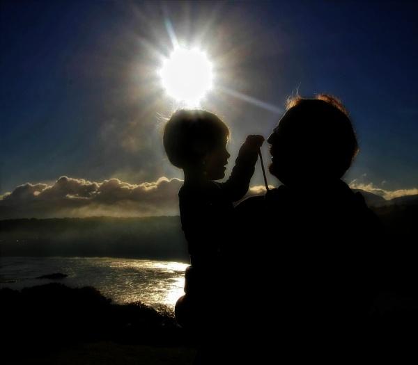 Misty Menai sunrise by pks