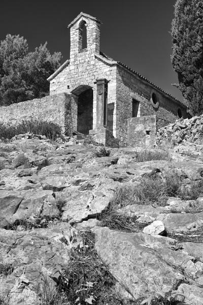 Road to Church, Hvar, Croatia by gavrelle