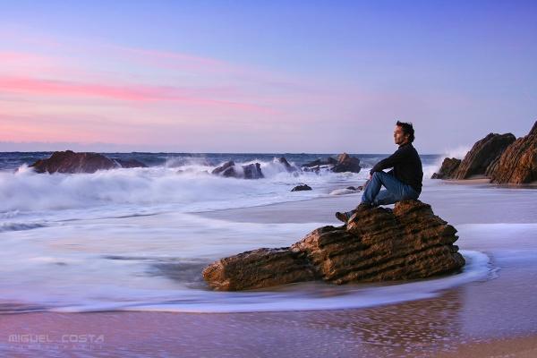 Ocean Stillness by Skylight99