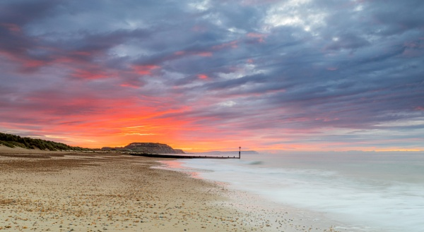 Hengistbury Dawn by NickLucas