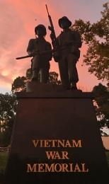 ANZAC Vietnam memorial