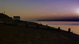 Lepe beach at dawn