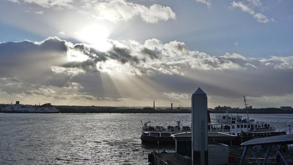 Ferry across the Mersey by Steven_Tyrer