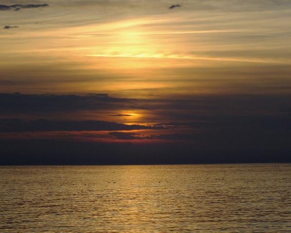 Sunset In Porec Croatia by davevee