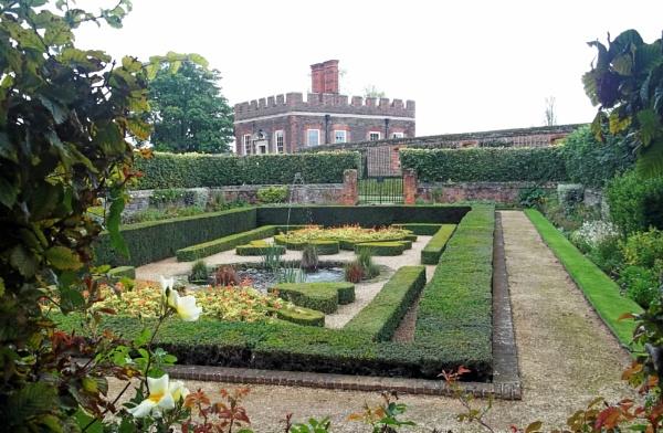 The Pond Garden by Hurstbourne