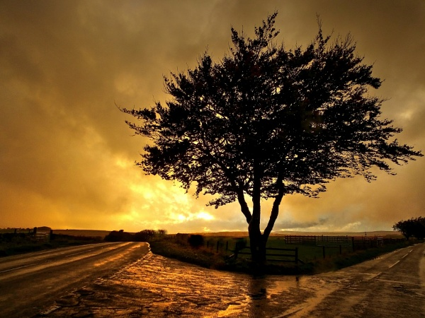 Stormy Sunset by ianmoorcroft