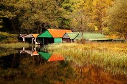 Loch Ard Boathouses