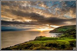 """Sunrise at Murlough"""