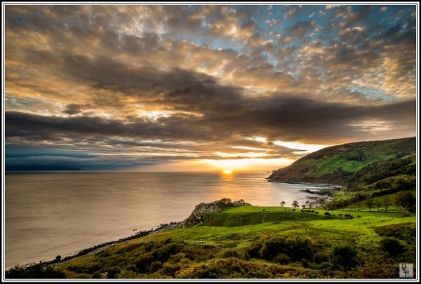 "\""Sunrise at Murlough\"" by DavidLaverty"