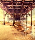 Under Blackpool's South Pier by ade_mcfade