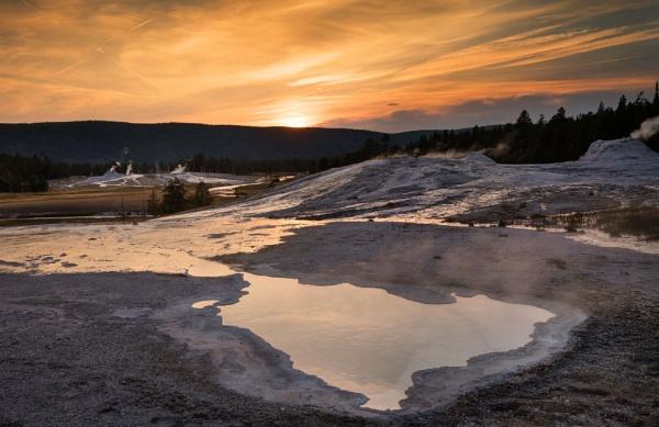 Balmy Sunset by Trevhas