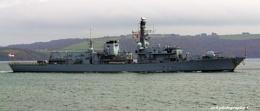 HMS Argyle Home From Deployment