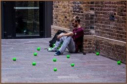 juggler at rest