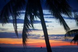 Balmy sunset