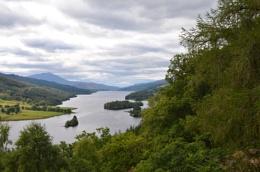 The Queen's View Loch Tummel