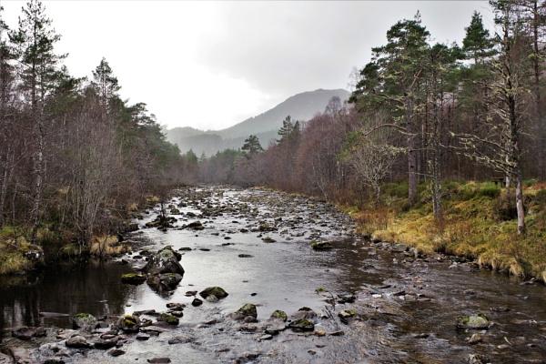 Scottish Landscapes - The Rainy River by PentaxBro