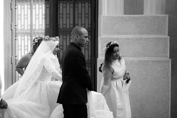 Happy bride by tonycullen