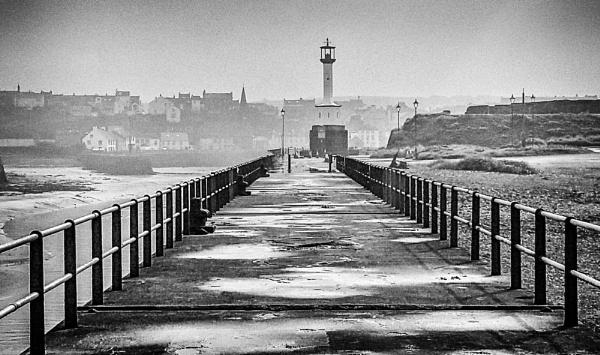Misty lighthouse by Sue_R