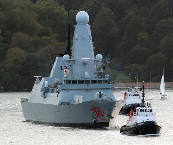 HMS Dragon by oldgreyheron