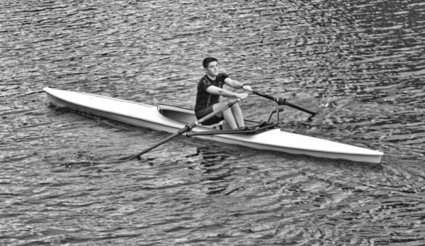 LONELY ROWER by youmightlikethis