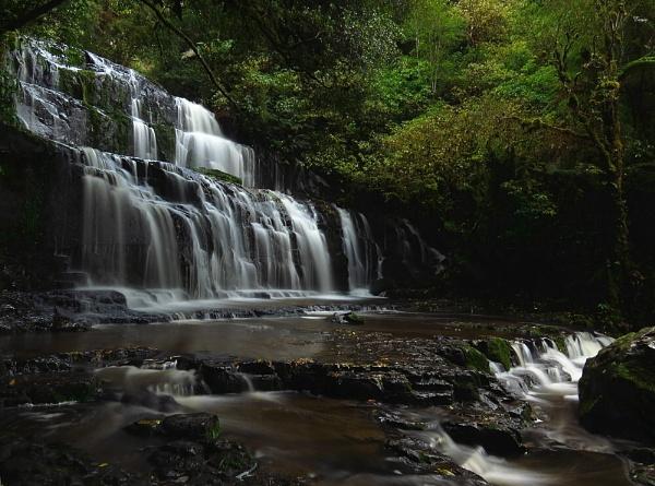Purakaunui Falls 3 by DevilsAdvocate