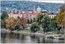 River Vltava, Prague by TrevBatWCC