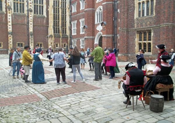Tudor Dancing Lessons by Hurstbourne