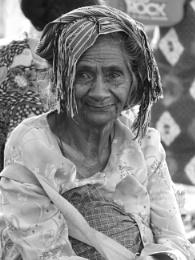 West Timor market lady ...