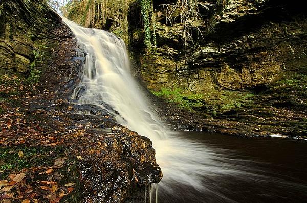 Hareshaw Linn Northumberland by icphoto
