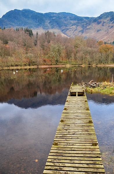 Loch Earn Jetty by AndyTheBee