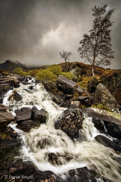 Rhaeadr Idwal Waterfall by Porthos