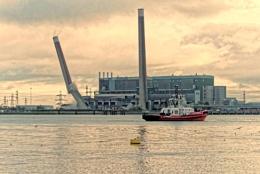 Destruction of Tilbury Power Station