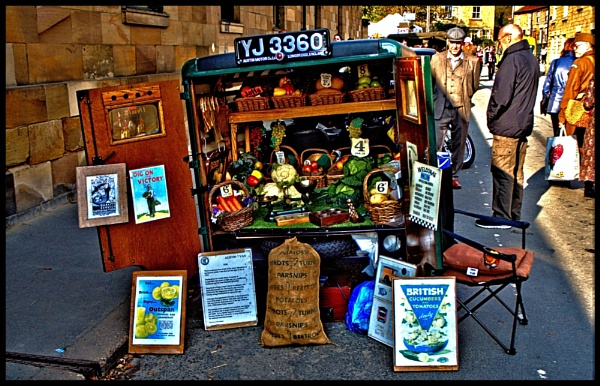 FRUIT & VEG SELLER. by kojack