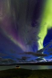 Northern Lights in Egilsstadir, East Iceland