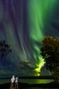 Iceland aurora by pdunstan_Greymoon