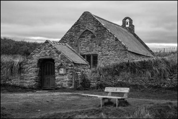 St Tanwg\'s, Llandanwg by bwlchmawr