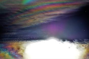 Rainbow riot.
